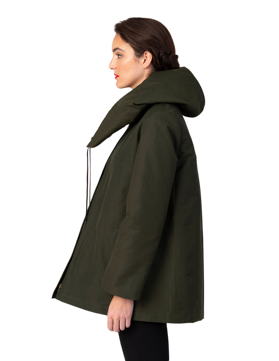 The Lasalle Parka-Olive