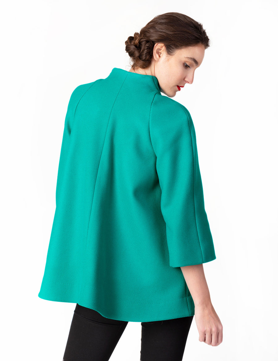 The Oakley Swing Coat - Jade