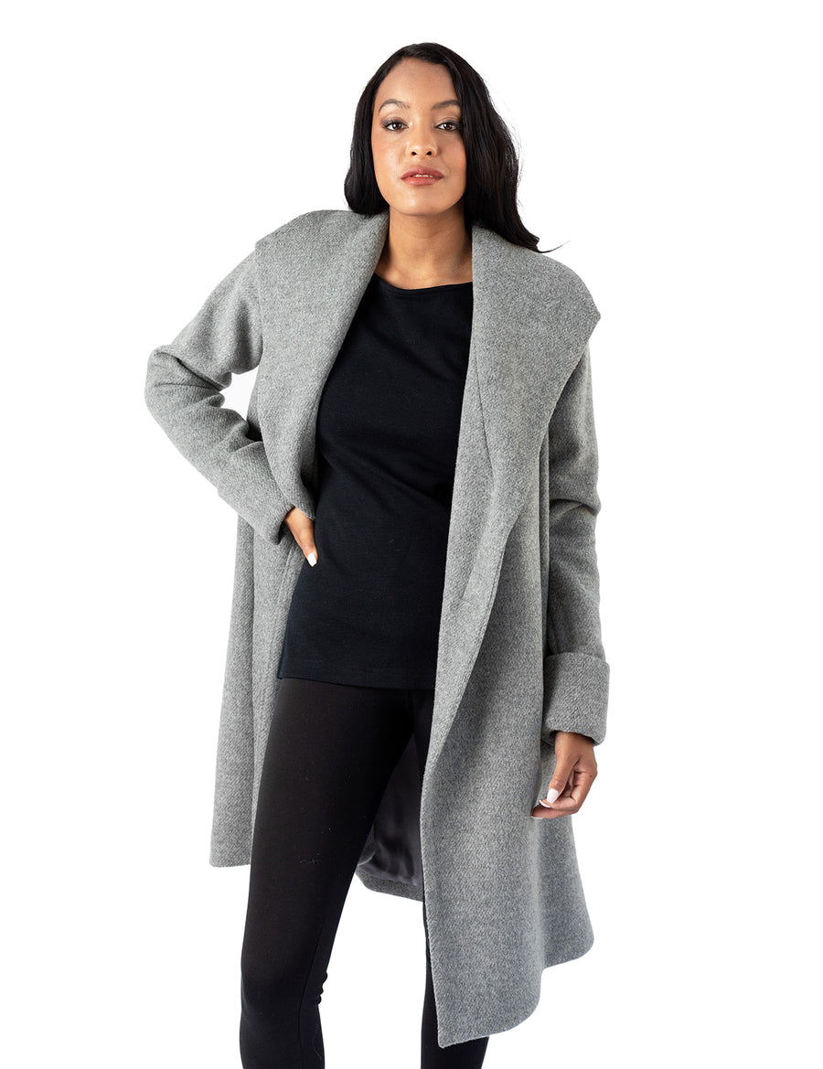 The Southport Overcoat - Grey
