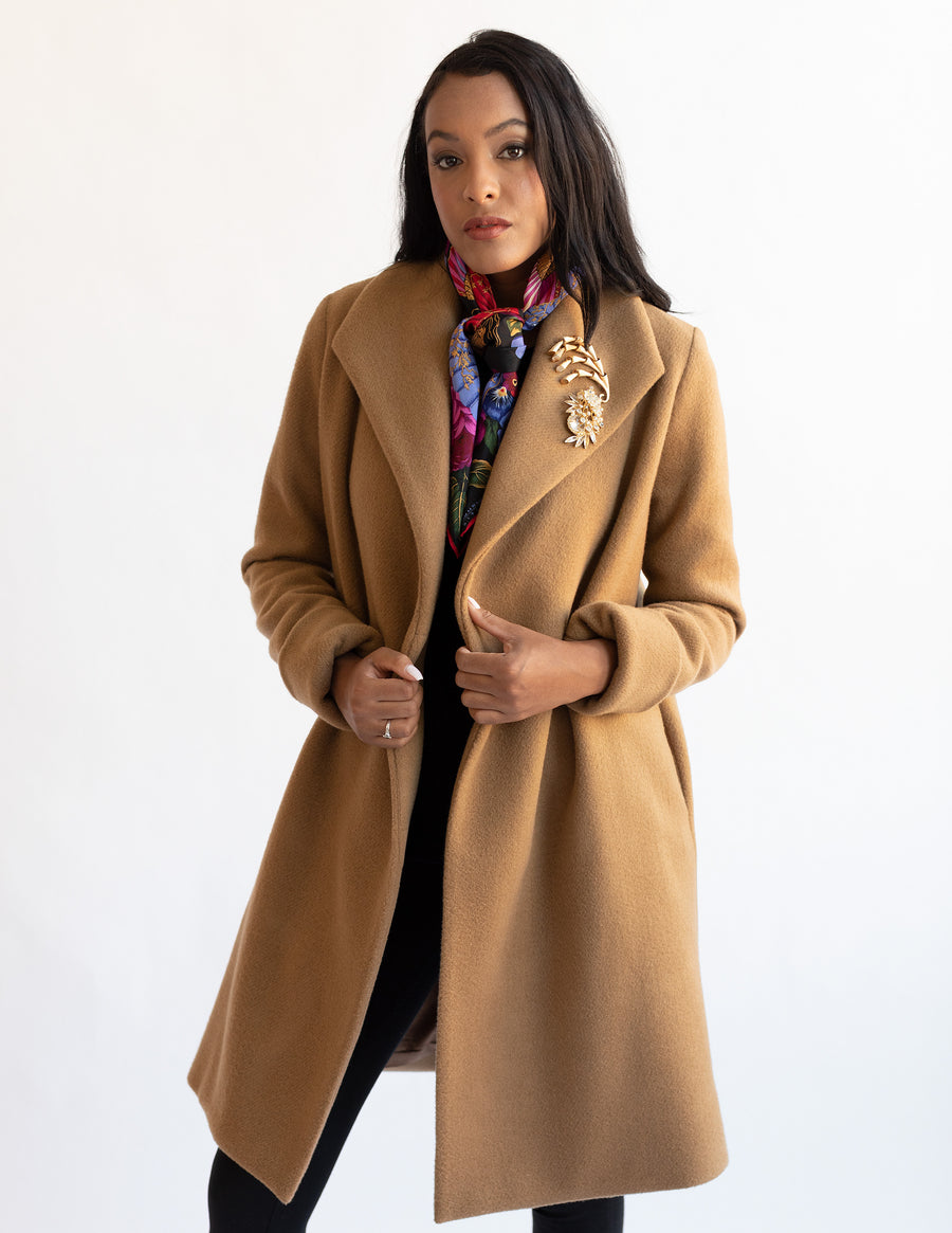 The Southport Overcoat - Caramel