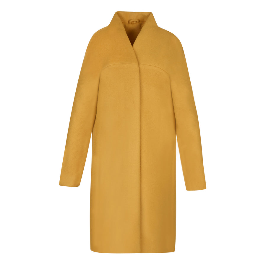 The Chicago Cardigan Coat - Marigold