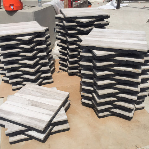 porcelain pavers for elevated decks