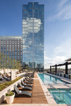 Omni hotel with 2x4 ipe deck tiles