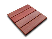 Eco Decking Tiles Premium Interlocking Curupay Deck Tile System