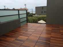 Eco Deck Ipe Structural Deck Tile 2x2 Grade A