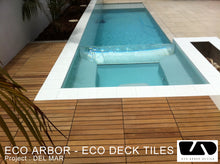 Eco Decking Tiles Premium Interlocking Ipe Deck Tiles