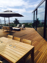 Del Mar roof deck with deck tiles