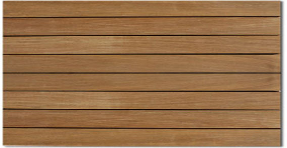 Eco Deck Ipe Structural Deck Tile 2x4 Grade A