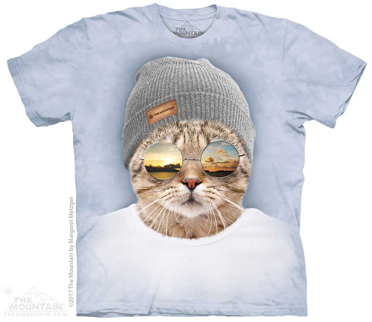Cool Hipster Cat