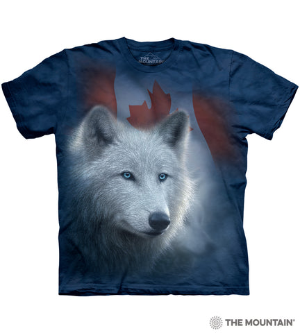 Canadian White Wolf
