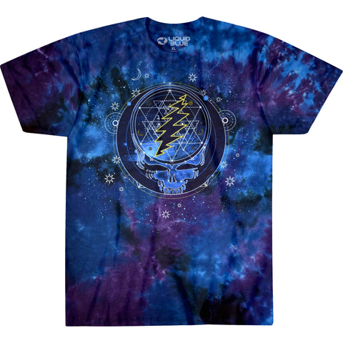Mystical Stealie Tie-Dye T-Shirt