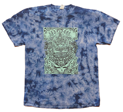 Aiko midnight blue tie-dye T-shirt