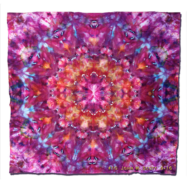 Peony Fantasie - large tapestry