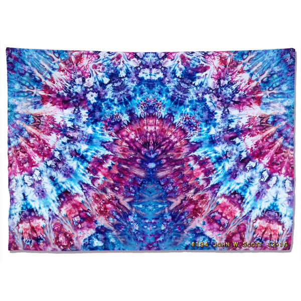 Convection Of Blue - extra-large tapestry