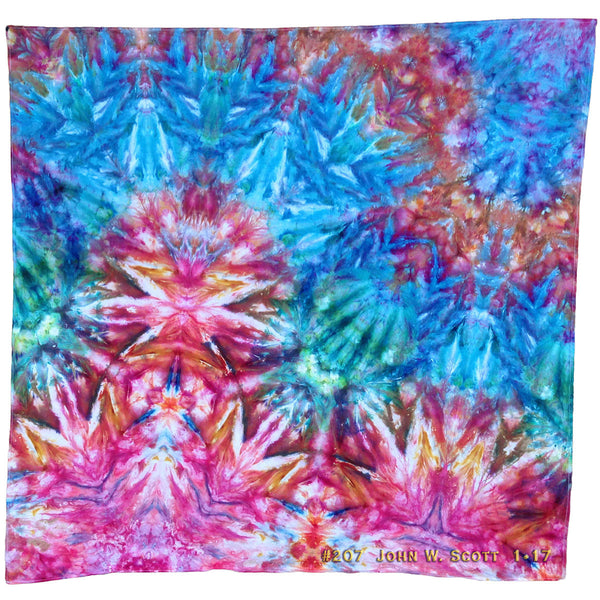 Crystal Corona - large tapestry