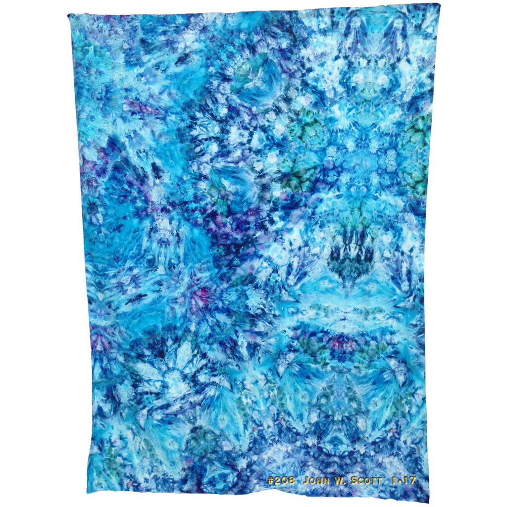 Tumble Blue - extra-large tapestry