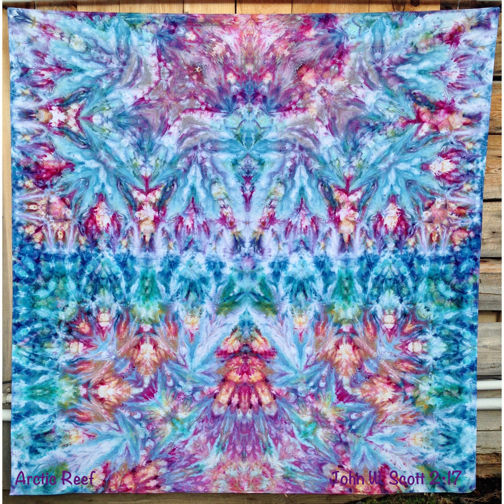 Arctic Reef - giant tapestry