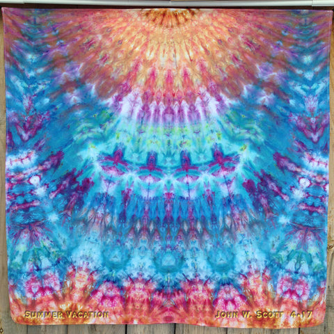 Summer Vacation - large tapestry