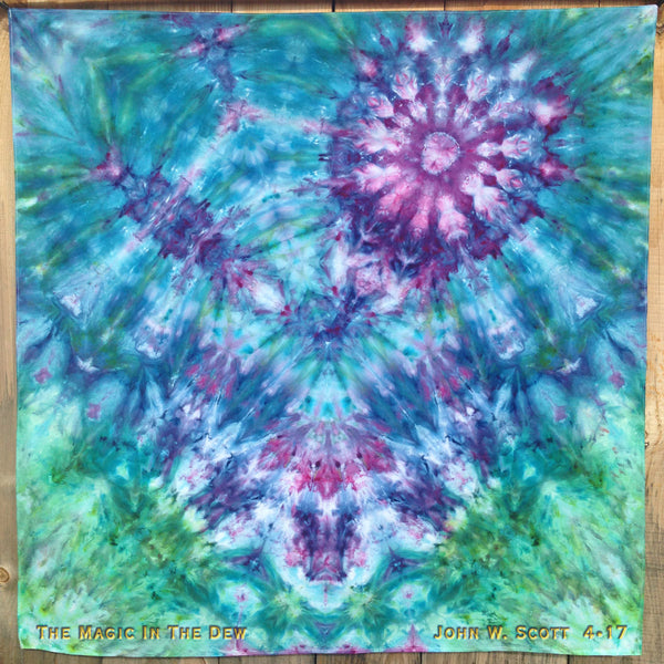 The Magic In The Dew - large tapestry