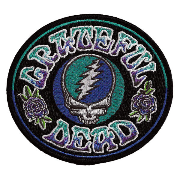 Batik Steal Your Face Embroidered Patch