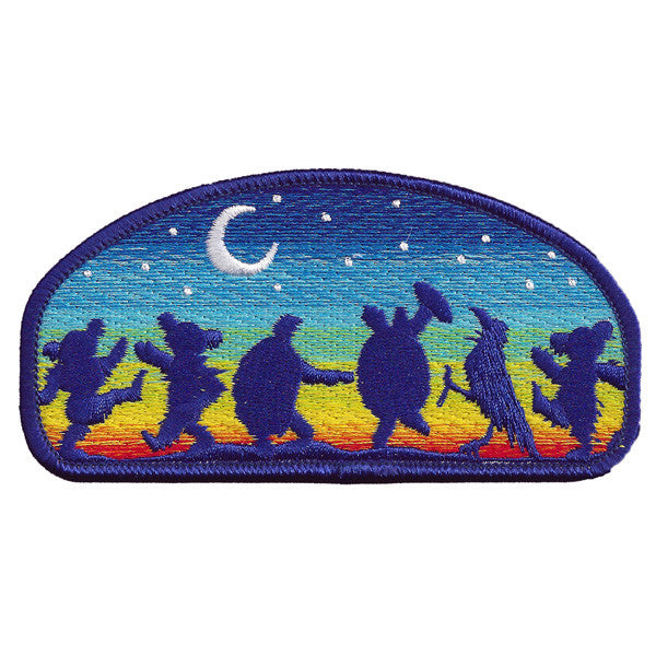 Moondance Embroidered Patch