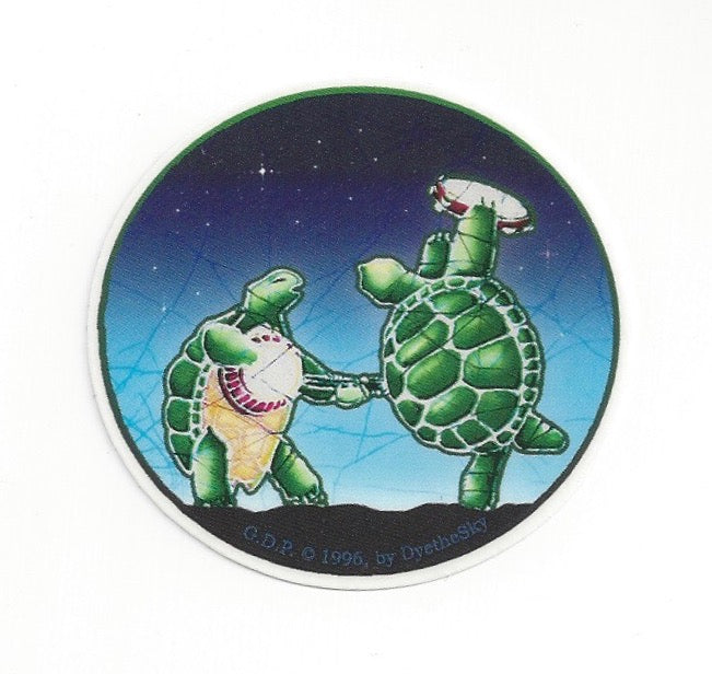 Batik Terrapins mini sticker