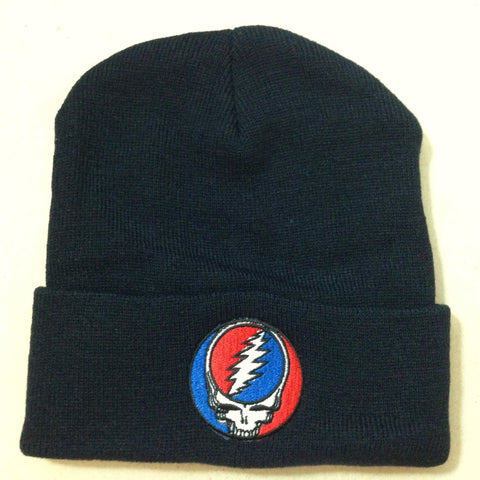 Steal Your Face Navy Beanie Hat