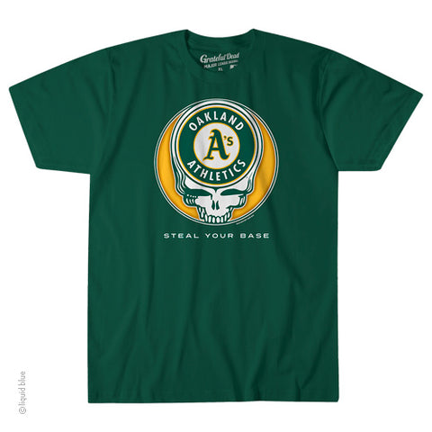 Oakland Athletics Steal Your Base Athletic T-Shirt