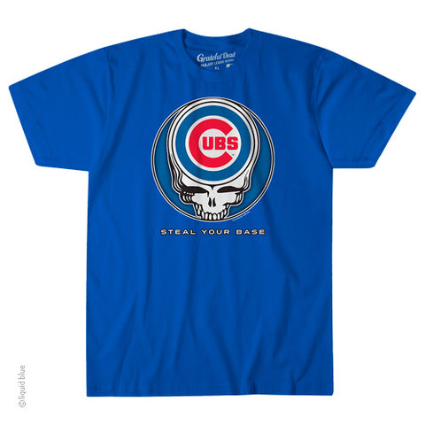 Chicago Cubs Steal Your Base Athletic T-Shirt