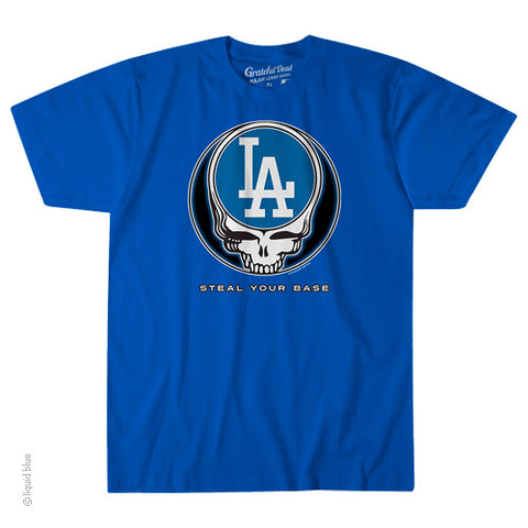 Los Angeles Dodgers Steal Your Base Athletic T-Shirt