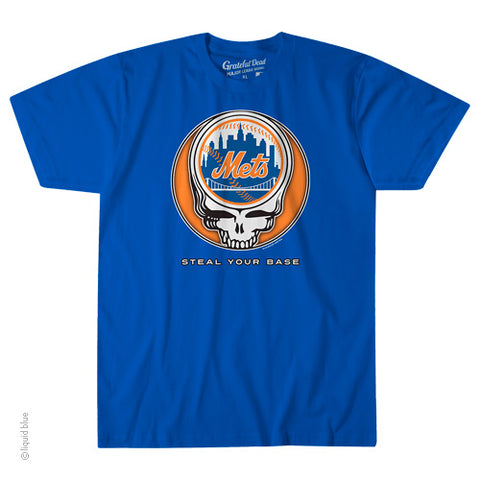 New York Mets Steal Your Base Athletic T-Shirt