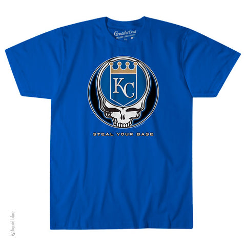 Kansas City Royals Steal Your Base Athletic T-Shirt