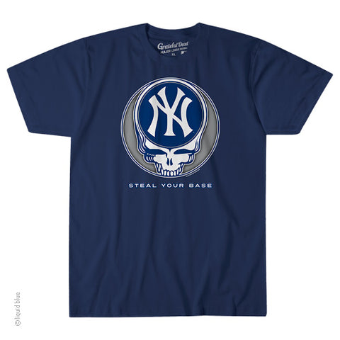 New York Yankees Steal Your Base Athletic T-Shirt