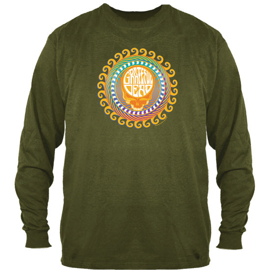Orange Sunshine Long Sleeve Shirt