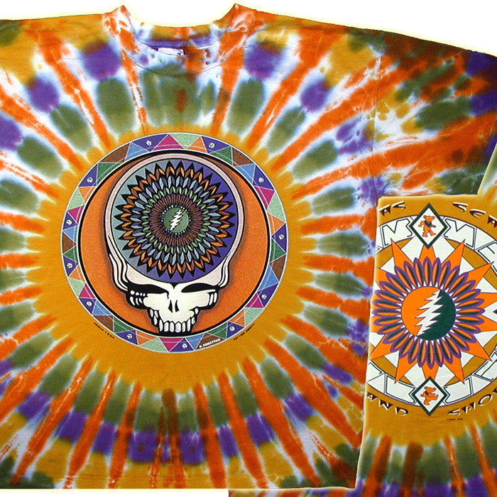 Steal Your Feathers Tie-Dye T-Shirt
