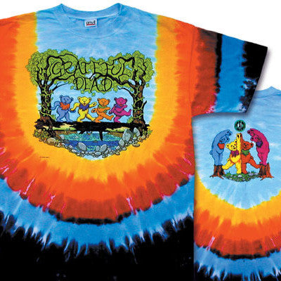 Wood Bears Tie-Dye T-Shirt