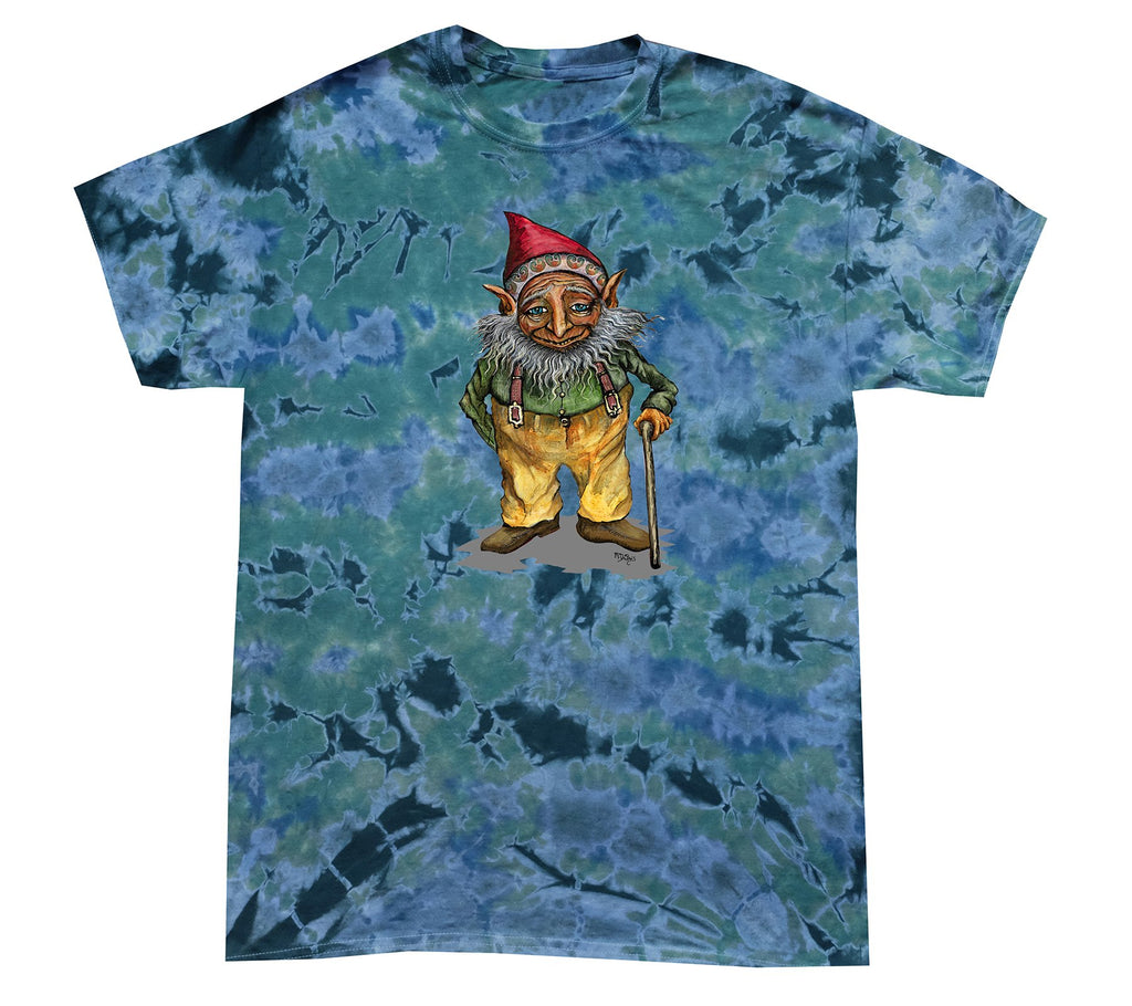 Grandfather Gnome tie-dye T-shirt