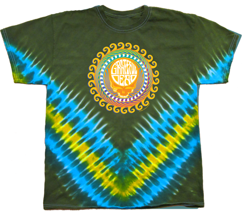 Orange Sunshine tie-dye T-shirt