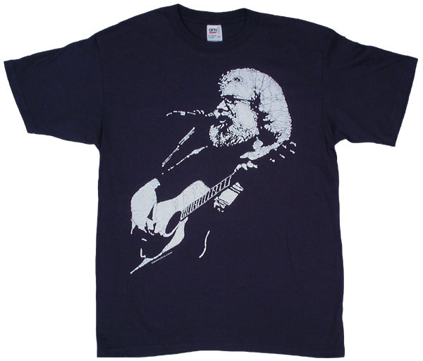 Jerry Acoustic navy T-shirt