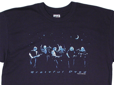 A Night Like Forever navy T-shirt