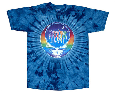 Dance Your Face tie-dye T-shirt
