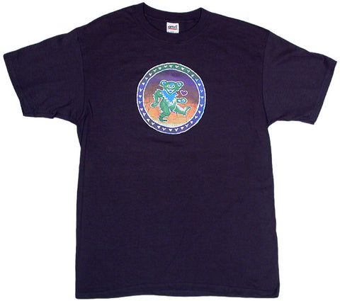 Bear Of Hearts navy T-shirt