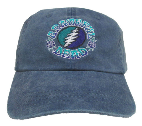 GD Bolt Stone Blue Hat