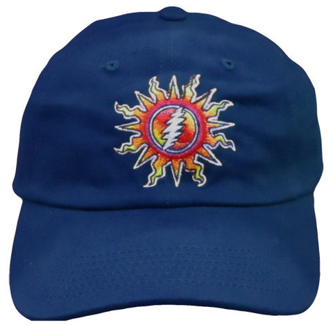 Sunshine Lightning Navy Hat