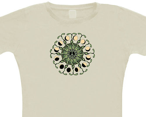 Peace Sprouts ladies' T-shirt