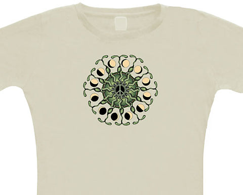 Peace Sprouts ladies' T-shirt - L
