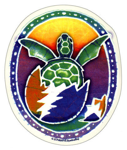 Hatching Terrapin decal