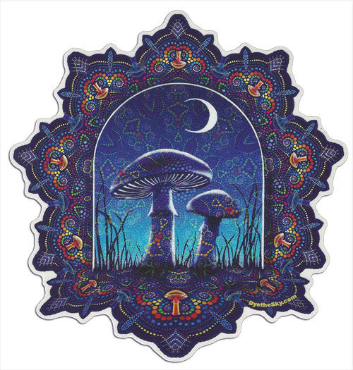 Magic Mushrooms decal