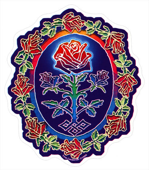 Celtic Rose decal