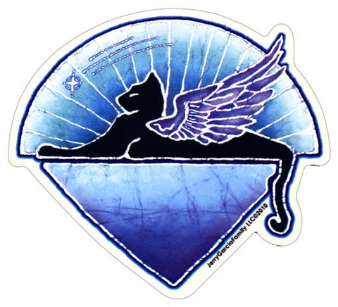 Winged Cat decal